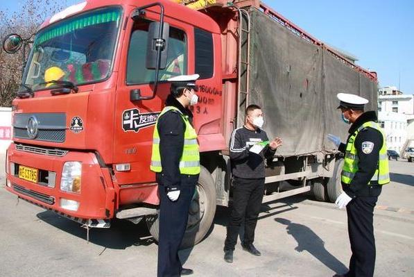 【华阴】查源头强管控 开展货车专项整治